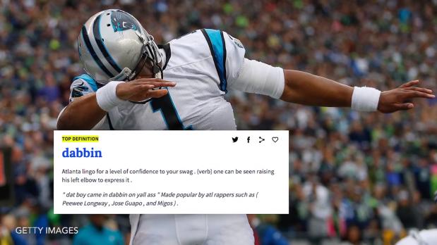 Cam Newton Starts -Dabbin- After Touchdown screenshot.png